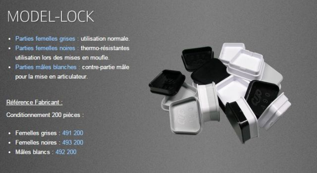 CLIPS MODEL LOCK CUP
