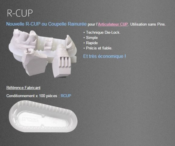 COUPELLES RAINURE RCUP