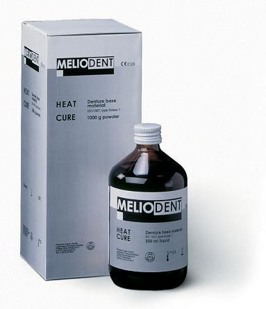 MELIODENT BASE LIQUIDE 500ml HEAT CURE